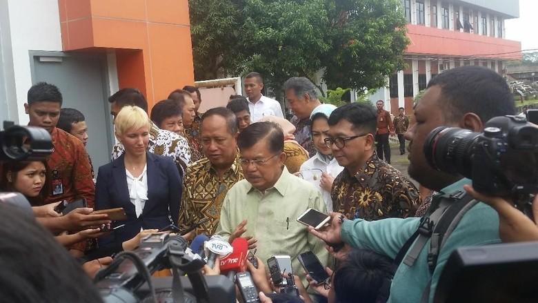 Novanto Tak Hadir di KPK, JK: Semua Kita Harus Taat Hukum