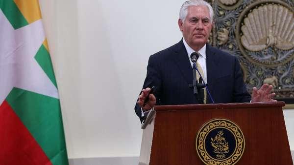 Menlu AS: Sanksi untuk Myanmar Tak Akan Selesaikan Krisis Rohingya