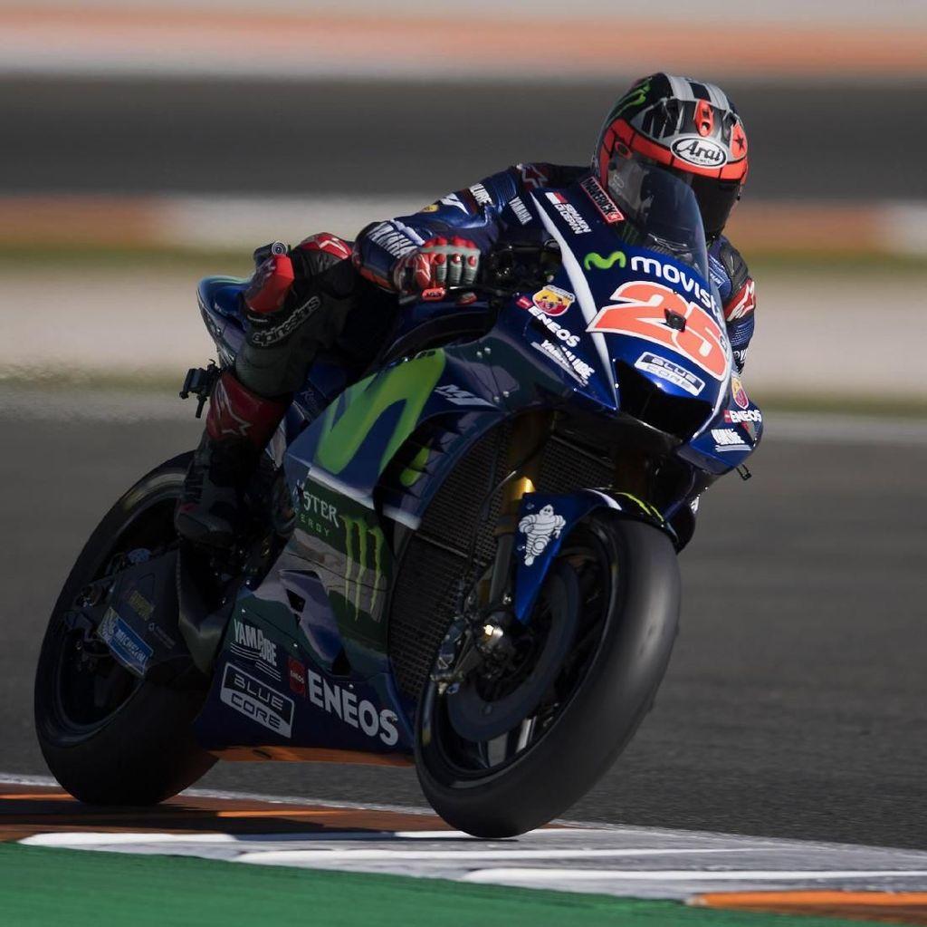 Tes MotoGP Valencia Dimulai, Vinales Tercepat di Hari Pertama