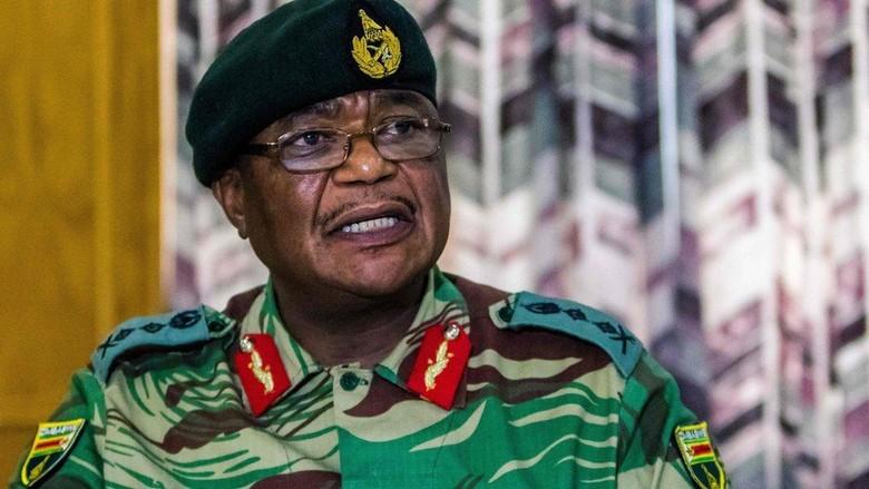 Kuasai TV Nasional, Militer Zimbabwe Bantah Lengserkan Pemerintah