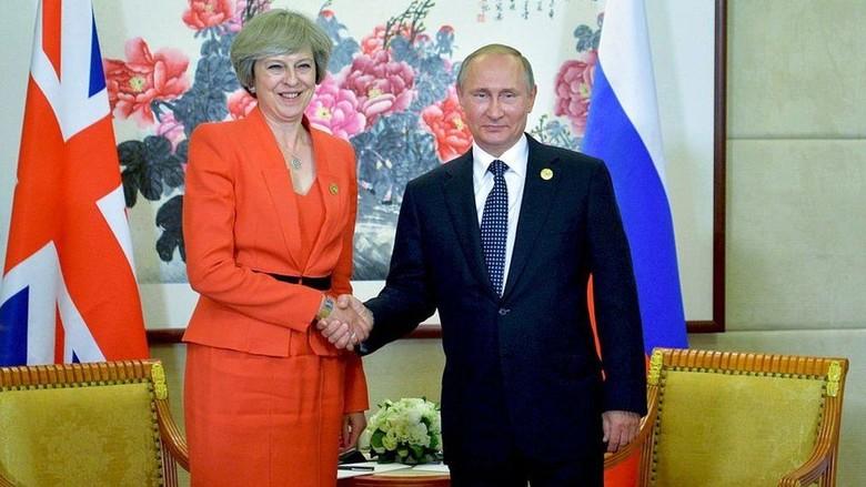 PM Inggris Menuding Rusia Campur - London Perdana Menteri InggrisTheresaMay melontarkan tuduhan berat kepada Rusia terkait dugaan campur tangan negara itu dalam sejumlah pemilihan