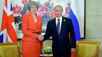 PM Inggris Menuding Rusia Campur Tangan dalam Pemilu Mereka