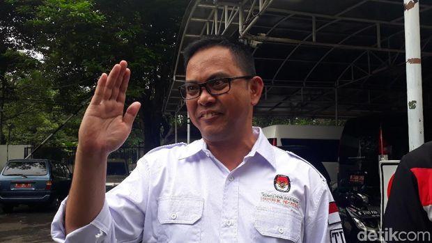 Komisioner KPU Viryan Aziz.