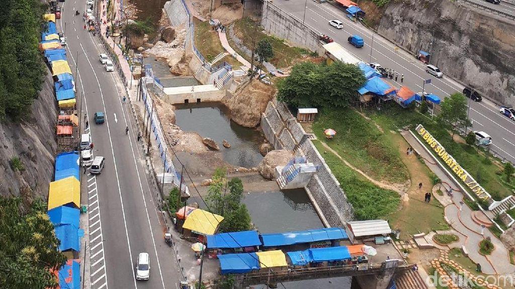 Foto: Eloknya Jembatan Kelok 9