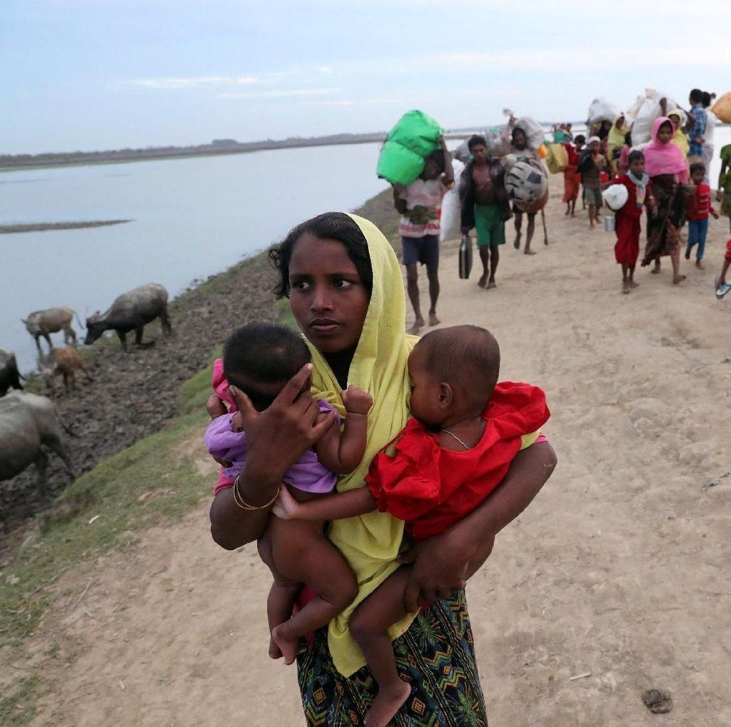 Menlu AS: Terjadi Pembersihan Etnis terhadap Rohingya di Myanmar