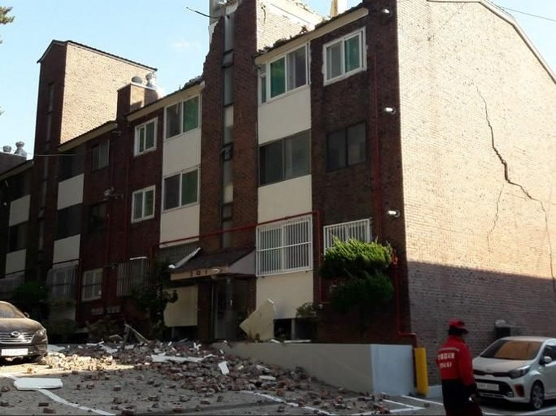 Gempa Langka 5,4 SR Guncang Korsel, Warga Panik