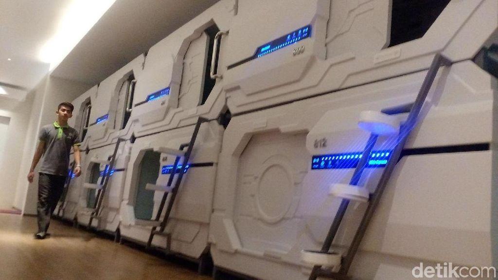 Hotel Kapsul Kekinian Hadir di Mojokerto