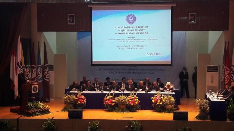IPB Tentukan Rektor Baru, 3 Calon Jalani Wawancara Terbuka
