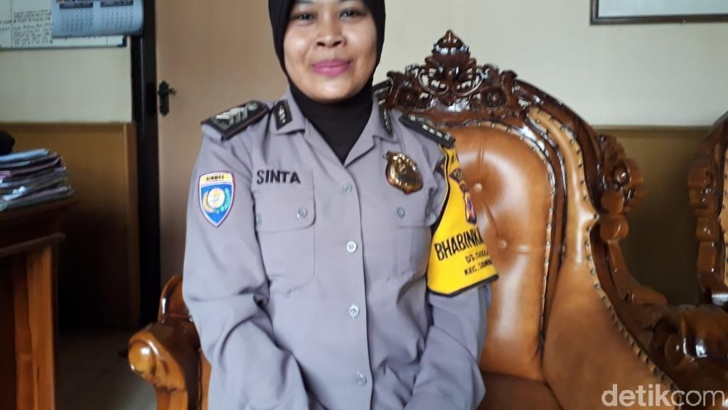 Polisi Baik dari Sumedang Ini Kerap Jadi Guru SLB