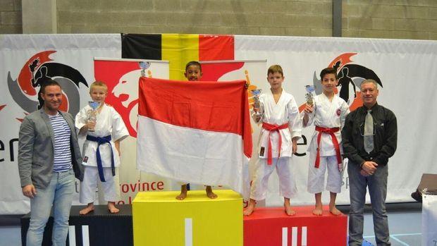 Orang Susah Raih Emas Karate di Belgia, Ayah: Air Mata Saya Menetes
