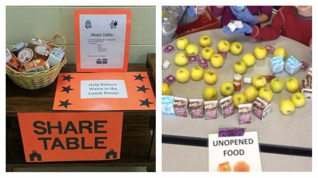 Share Tables di Sekolah Cegah Makanan Terbuang dengan Cara Bermanfaat