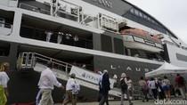 Naik Kapal, 212 Wisatawan Asing Liburan ke Sumatera Utara