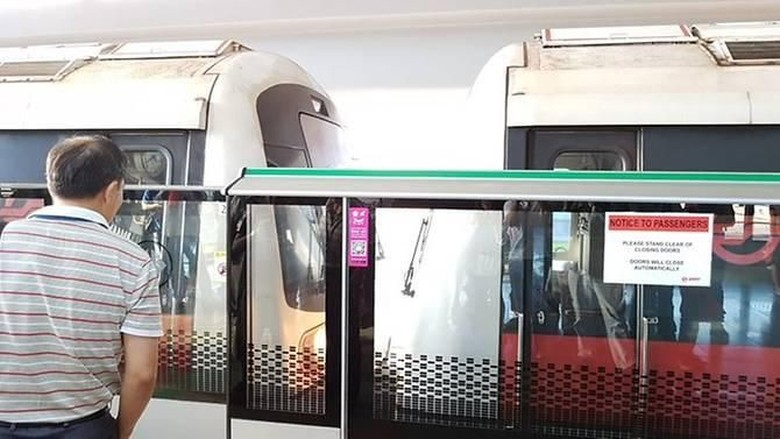 23 Orang Luka-luka dalam Tabrakan 2 Kereta MRT di Singapura