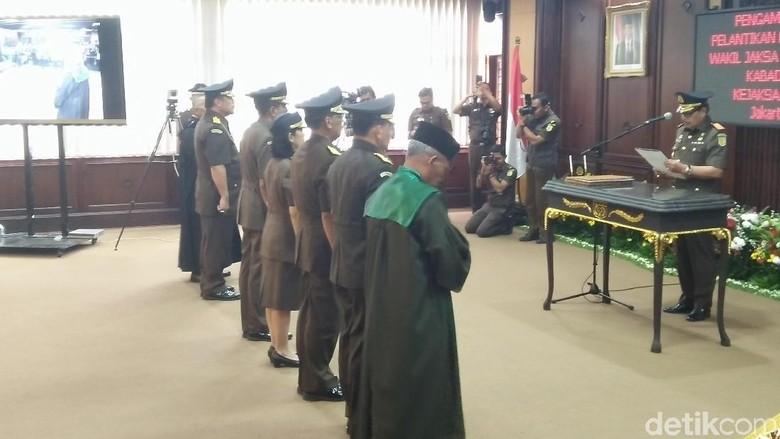 Ketua KPK hingga Kabareskrim Hadiri Pelantikan Wakil Jaksa Agung