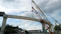 Musim Hujan Jadi Kendala Pembangunan LRT Palembang