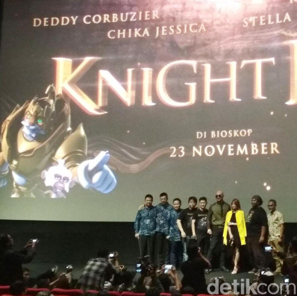 Knight Kris: Bentuk Keprihatinan Deddy Corbuzier Terhadap Film Anak