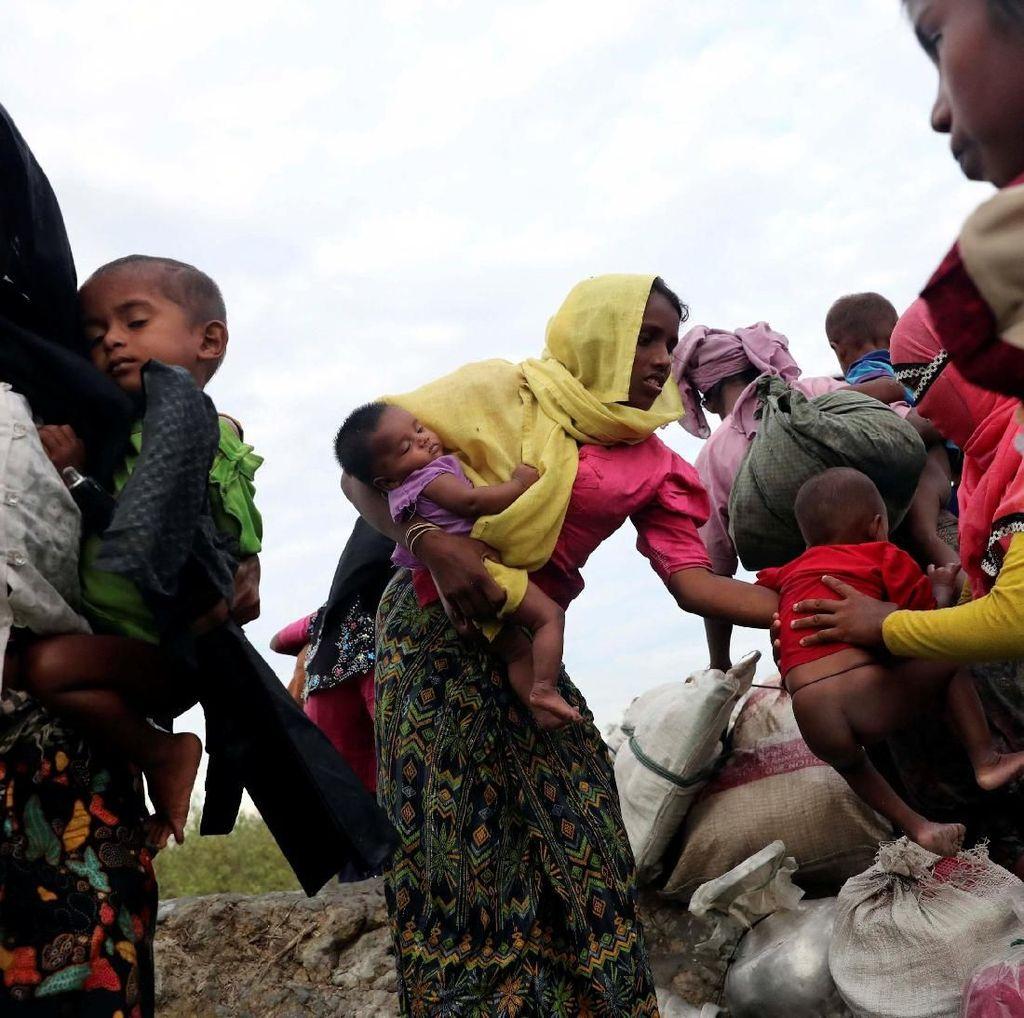Uni Eropa Akan Bahas Krisis Rohingya dengan Aung San Suu Kyi