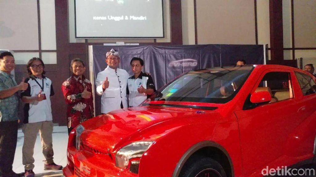 Evhero, Mobil Listrik Crossover Ciptaan Dosen Bandung