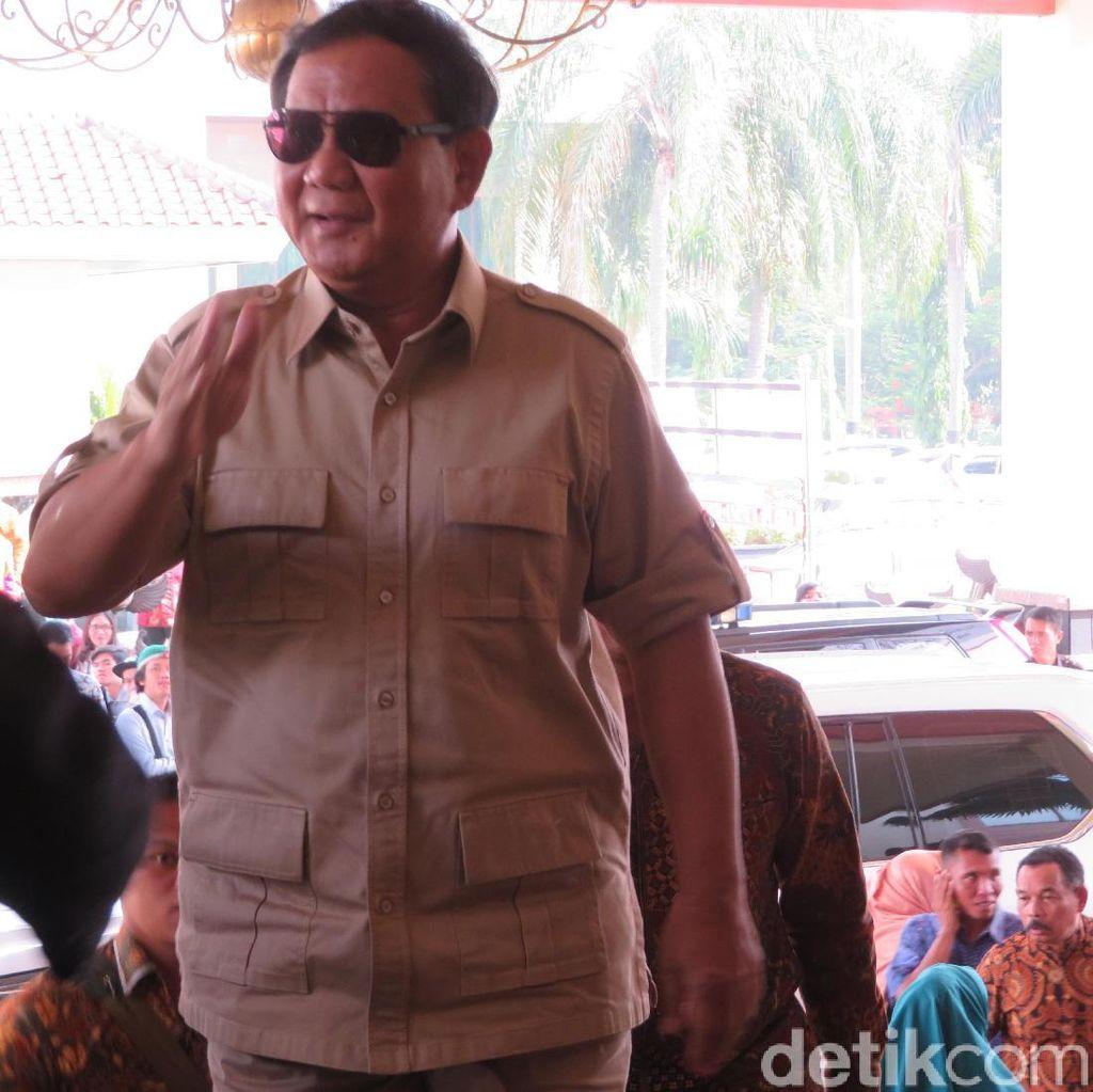 Daftar Cawapres Prabowo: Gatot, TGB, Cak Imin, hingga AHY