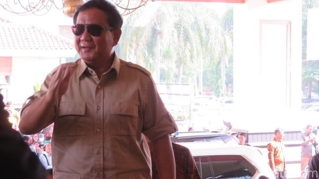 DPD Gerindra Serentak Deklarasikan Prabowo Nyapres 11 Maret 2018