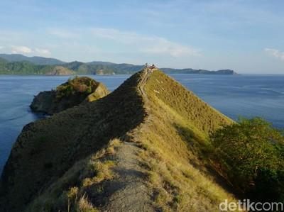 Bukan Pulau Padar, Ini Dahsyatnya Pulau Dua di Luwuk
