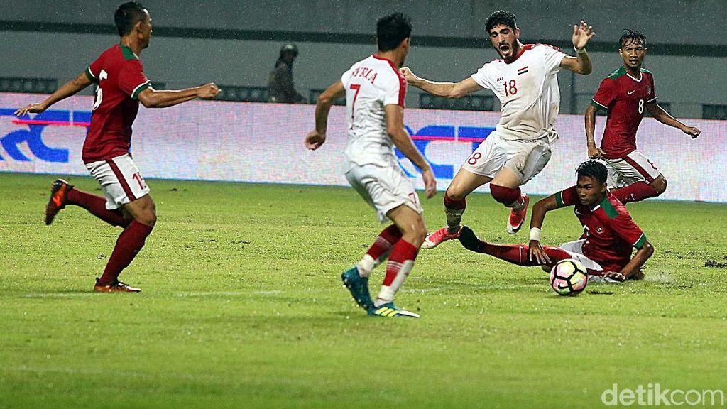 Timnas Indonesia U-23 Ditaklukan Suriah 2-3