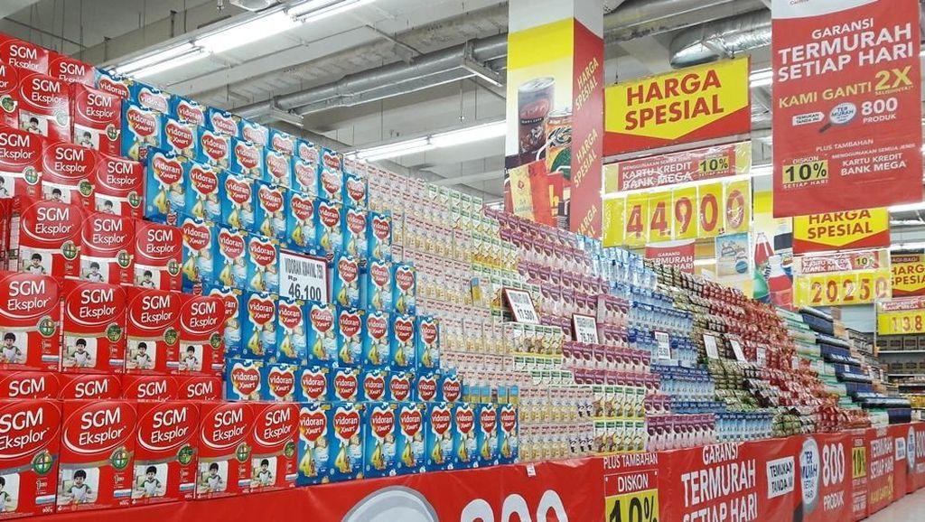 Beli Susu Anak Gratis Gula Pasir di Transmart Carrefour, Bun