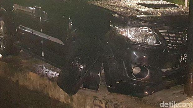 Setya Novanto Kecelakaan dengan Fortuner, Ini Kata Toyota