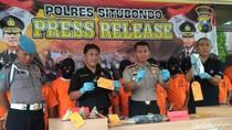 2 Bulan, Polres Situbondo Amankan 41 Pelaku Kejahatan