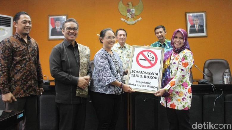 Baru Seperlima Pemda yang Miliki - Magelang Dari Pemkab dan Pemkot di seluruh terhitung baru yang memiliki regulasi kawasan tanpa rokok Dari jumlah yang