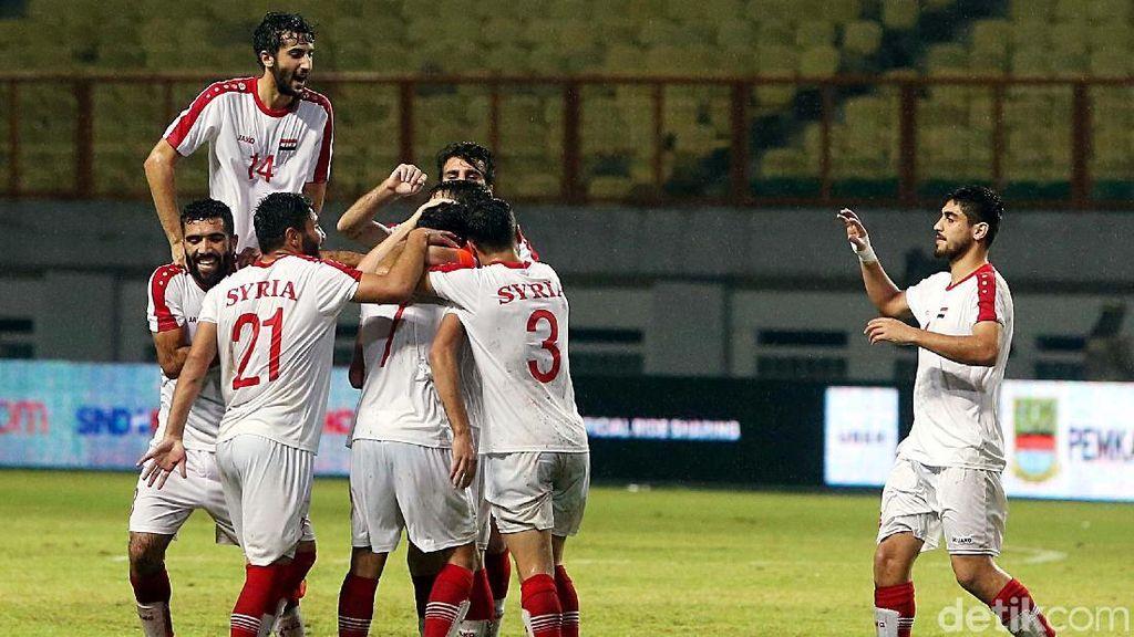 Pelatih Suriah U-23 Beberkan Kunci Kemenangan dari Timnas Indonesia