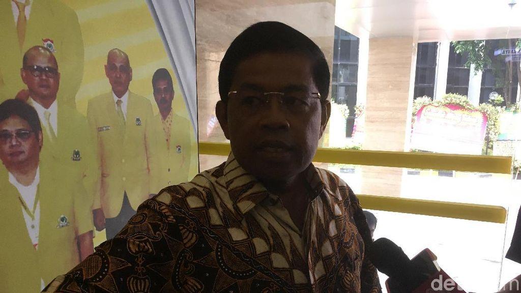 Usai Bertemu Kapolri, Idrus Marham Datangi DPP Golkar