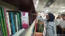 Keren, Gerbong Kereta Api disulap Jadi Klinik dan Perpustakaan