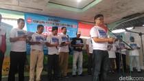 Forum Alumni Petisi Sampaikan Penolakan Reklamasi di Kampung Nelayan