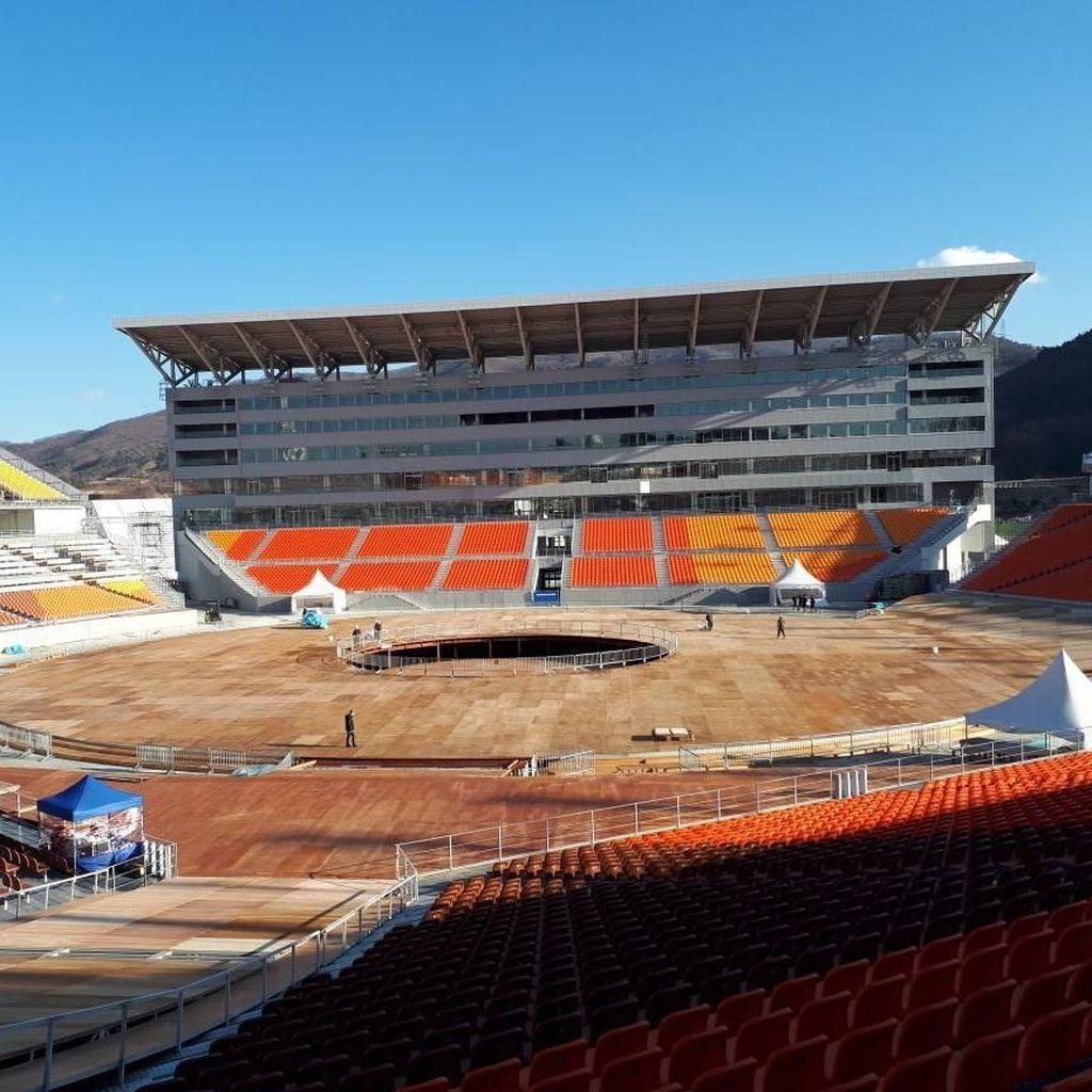 Mengintip Perkembangan Olimpiade Musim Dingin PyeongChang 2018 di Korsel