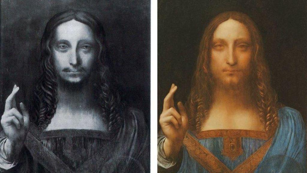 Terjual Rp 6 T, Benarkah ini Lukisan Karya Leonardo da Vinci?