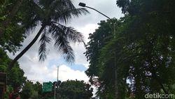 Tiang Lampu yang Ditabrak Setya Novanto Milik Pemda DKI