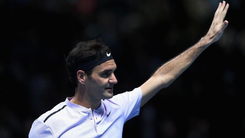 Federer Sapu Bersih Fase Grup