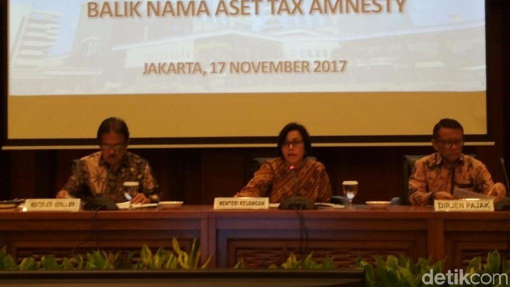 Sri Mulyani Sebut 120 Ribu Peserta Tax Amnesty Belum Bebas PPh