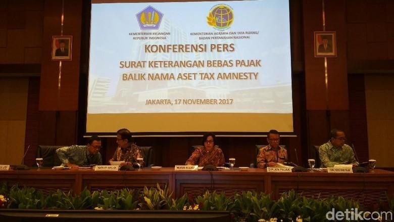 Banyak Peserta Tax Amnesty Belum Bebas PPh, Ini Solusi Sri Mulyani