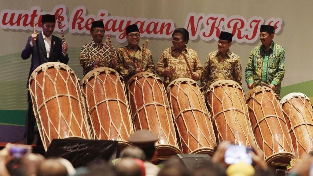 Presiden Jokowi Buka Munas KAHMI