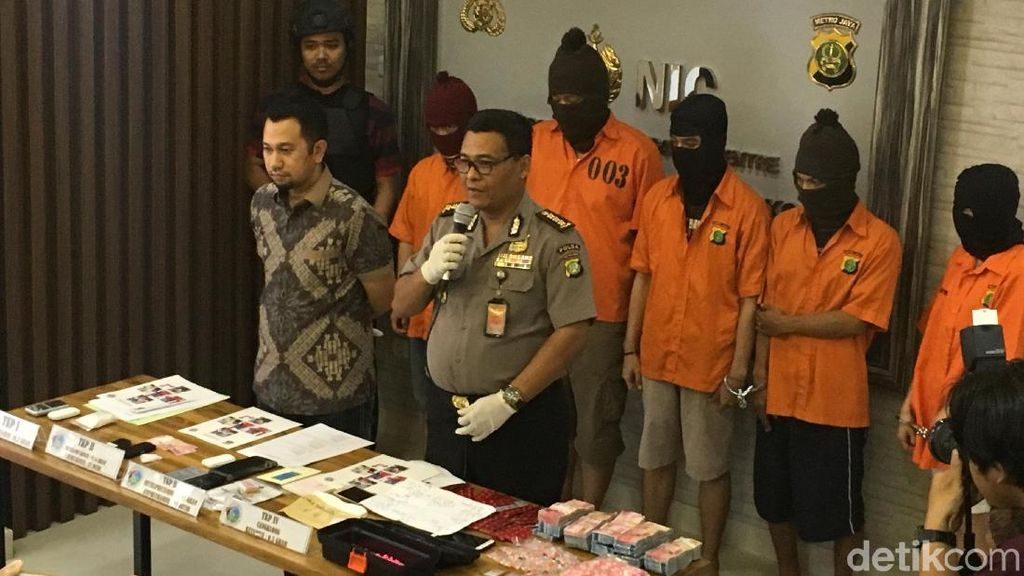 Polisi Tangkap Penyuplai Narkotika ke Tempat Hiburan Malam