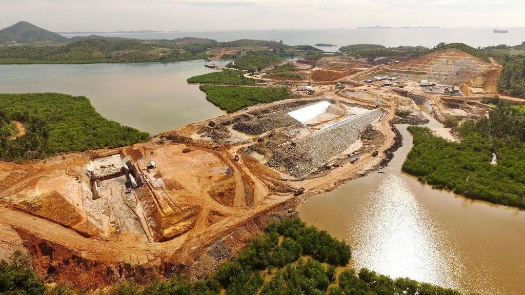 Tengok Yuk Proyek Bendungan Jokowi di Batam
