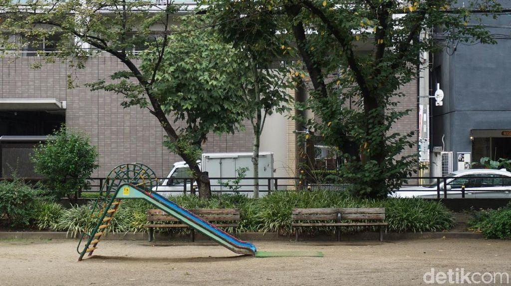 Foto: Di Jepang, Setiap Lahan Kosong Dibuat Taman
