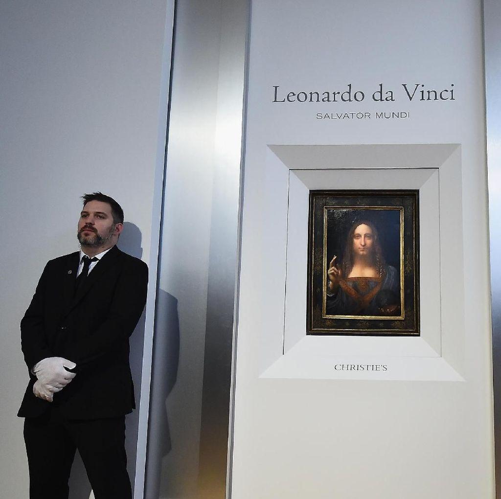 Lukisan Termahal Kristus Dilukis oleh Murid Leonardo da Vinci?