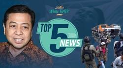 Riuhnya Pemindahan Setya Novanto, Evakuasi Sandera di Papua