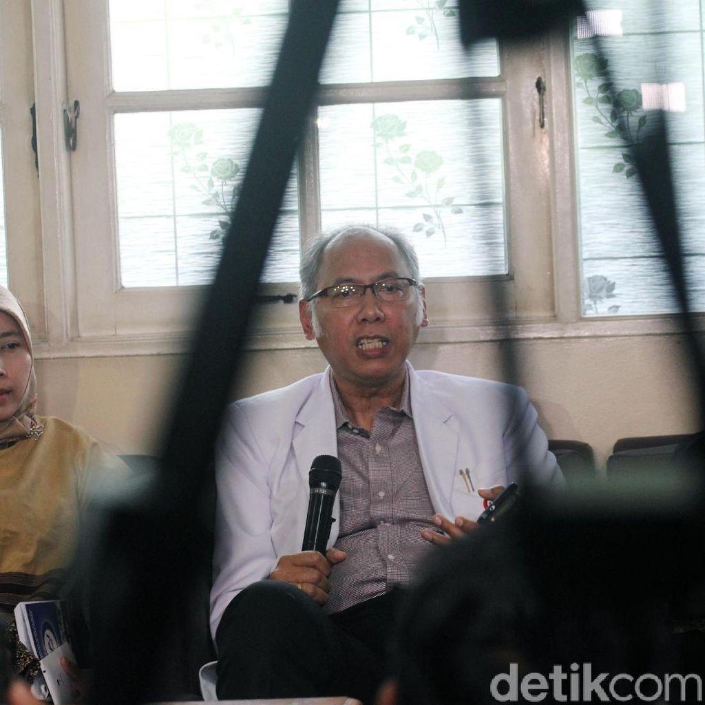 Menyimak Lagi Penjelasan Dokter RS Medika Soal Luka Novanto