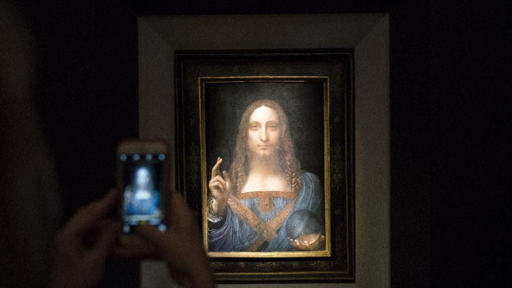 Pembeli Lukisan Rp 6 T Leonardo da Vinci, Berasal dari Asia atau Timur Tengah?