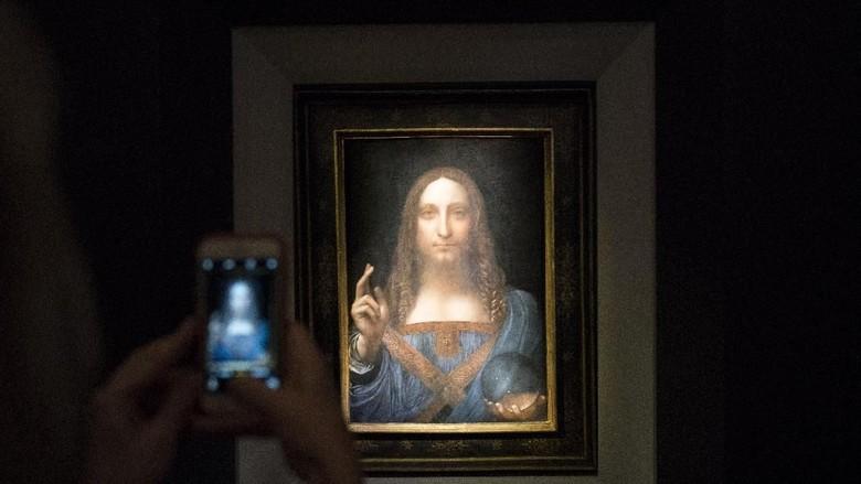 Lukisan Termahal di Dunia Salvator Mundi Menuju Louvre Abu Dhabi