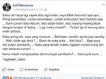 Viral Curhatan Suami Zaman Now di FB soal Istri Bukanlah Pembantu